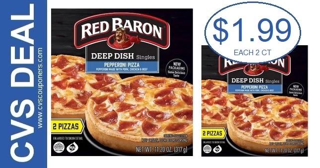 Red Baron Pizza CVS Deals