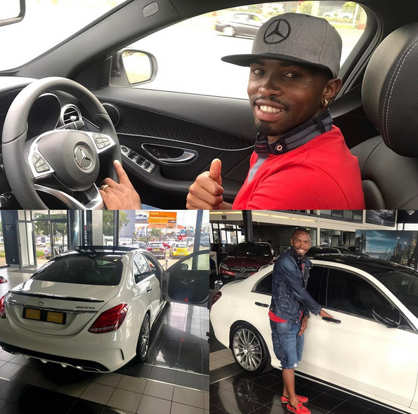 Footballer Bernard Parker Has Added A New Set Of Wheels Worth Over R 850000 To His Garage