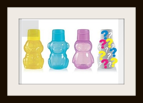 Tupperware Animal Water Bottles