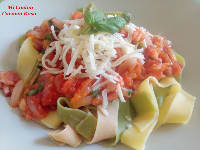 Parppardelle All´ Amatriciana
