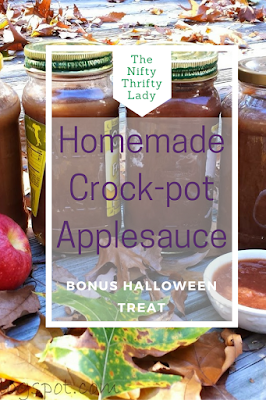 There is nothing better than Homemade Applesauce from the crock-pot made with local orchard apples Here is my recipe!
