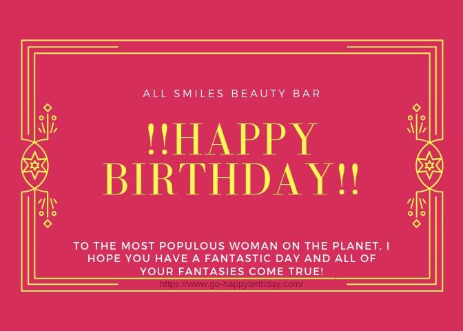 Happy Blessed Birthday