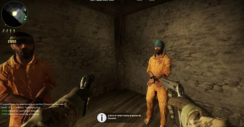 How to play hostage mission in Counter-Strike: Global Offensive