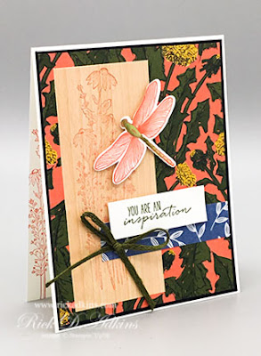 You can send inspirational cards to anyone with the Dragonfly Garden Bundle from Stampin' Up!'s January-June Mini Catalog.  Click here to learn more