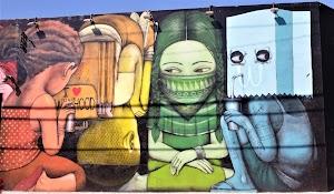 Mengenal Graffiti, Mural dan Karya Seni Media Dinding Lainnya.