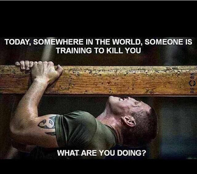 Train Hard Oriented Quotes