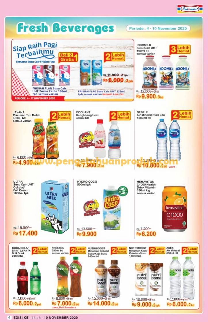 Promo Indomaret Katalog Mingguan Super Hemat 4 10 November 2020