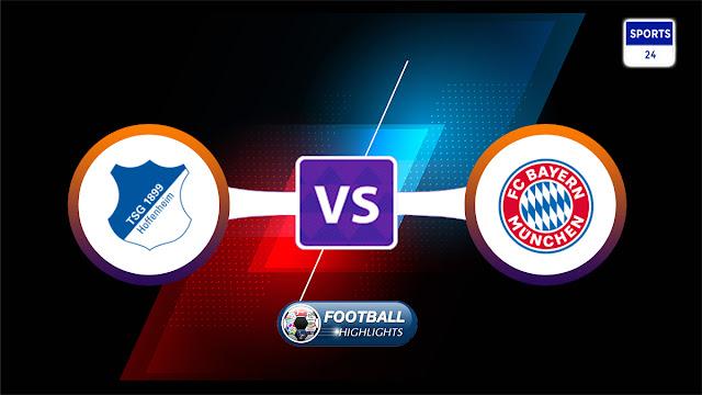Hoffenheim vs Bayern München – Highlights