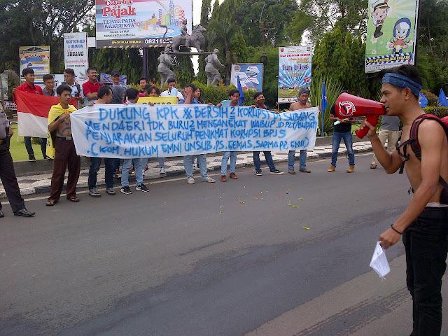 GMNI Subang Ingatkan Mendagri Supaya Tidak Buru-buru Mengangkat Wabup Menjadi Bupati