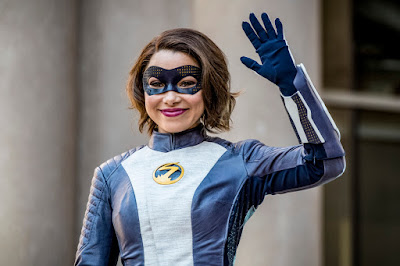 """The Flash -- """"Nora"""" -- Image Number: FLA501b_0284b.jpg -- Pictured: Jessica Parker Kennedy as XS -- Photo: Katie Yu/The CW -- © 2018 The CW Network, LLC. All rights reserved"""