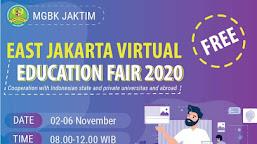 Mari Daftar Kuliah Secara Virtual Melalui East Jakarta Education Fair 2020