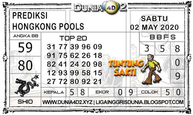 Prediksi Togel HONGKONG DUNIA4D2 02 MEI 2020