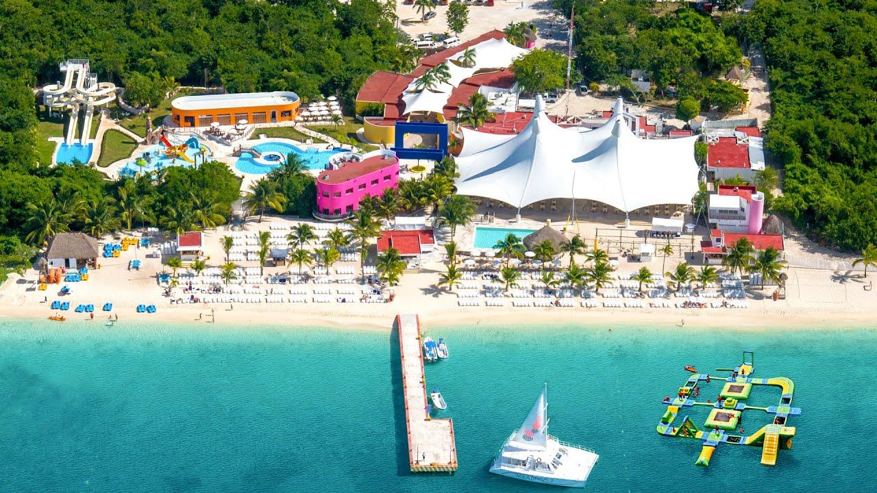 Пляжный парк Playa Mia Grand в Косумель