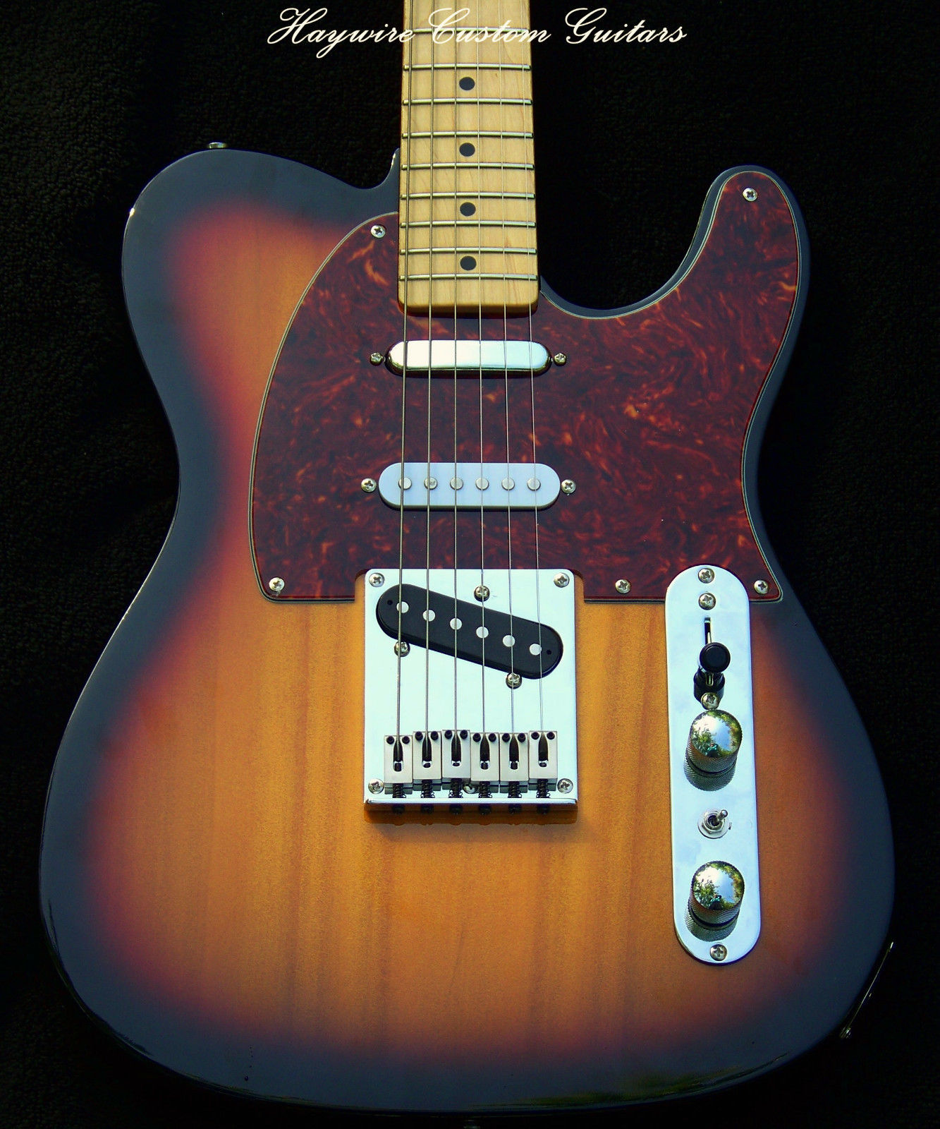 Nashville Haywire Shredneck Special Pickups And 7 Sound Switching Way Switch Strat This Haywireshredneck Has A Set Of Lollar Tele Vintage Blonde In The Middle 5 Normally