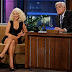Christina Aguilera on the Jay Leno show | 2