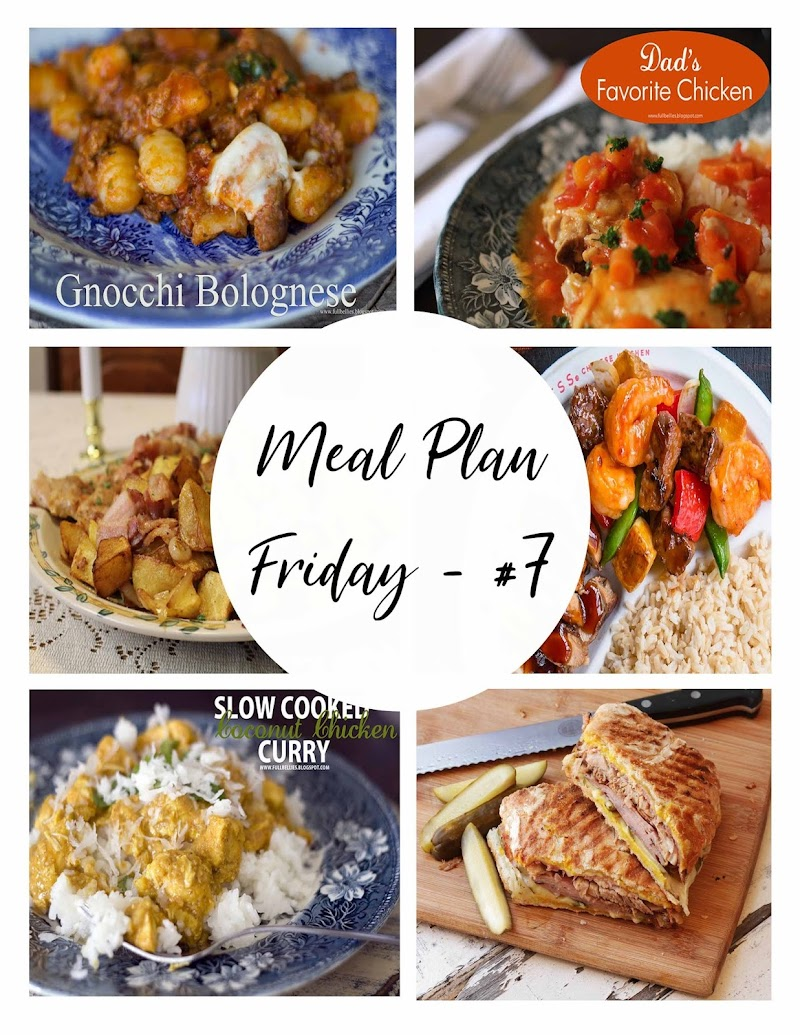 Meal Plan Friday #7