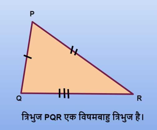 vishambahu tribhuj ka kshetrafal (chetrafal)
