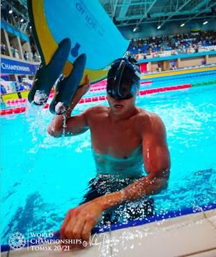 Nadador risaraldense con nuevo récord panamericano