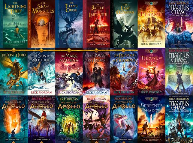 Gini Nih Urutan Baca Novel Series Rick Riordan