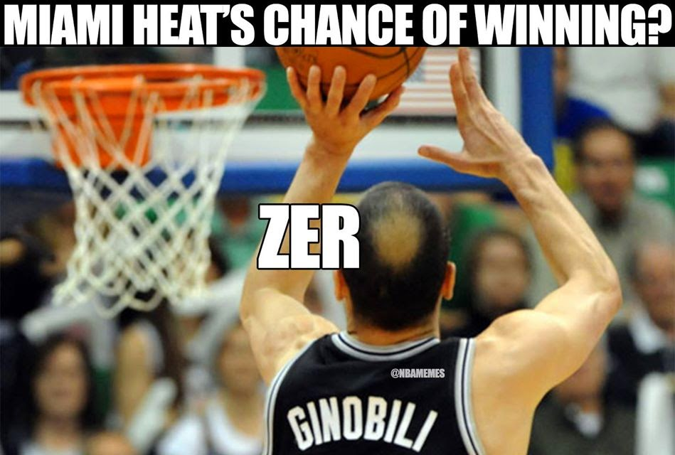 Spurs vs Heat - NBA Finals - Game 5 June 10 2014 - FUNNY ...