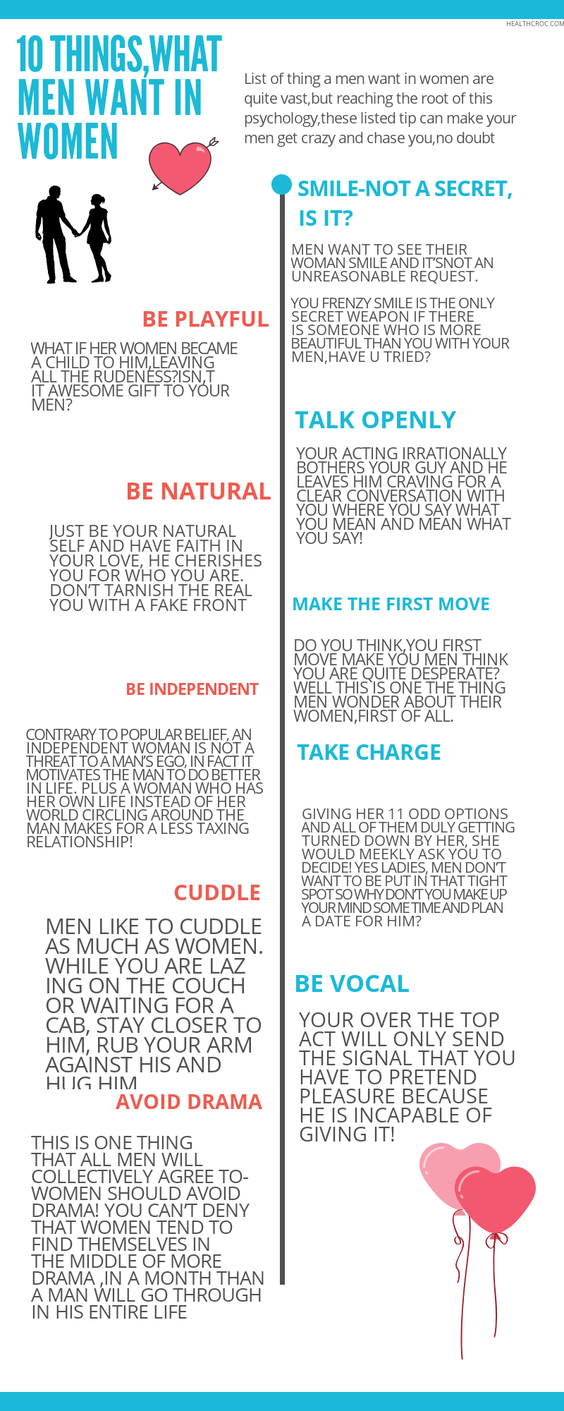 what men want in women