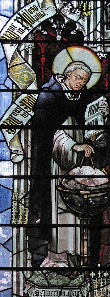 Santo Alberto Magno, padroeiro das ciências, igreja de São Domingos, Londres.