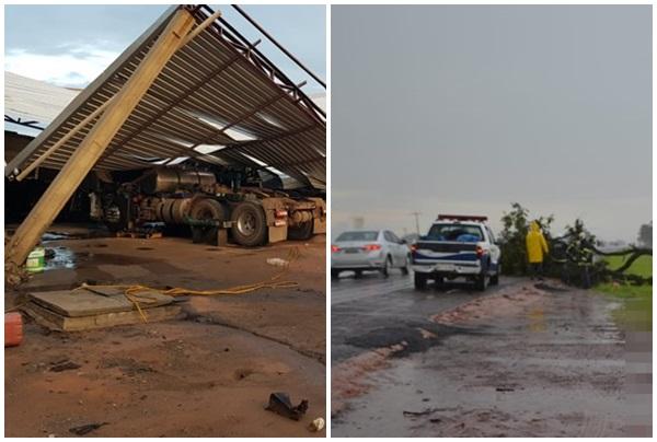 OESTE: Temporal causa estragos em LEM-BA previsão é de mais chuva