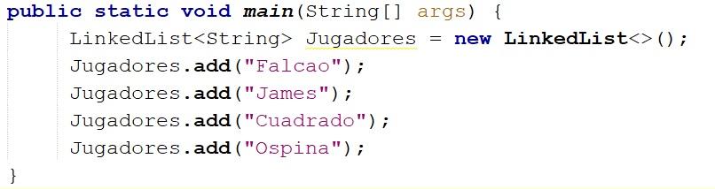 Cómo usar la clase LinkedList en Java