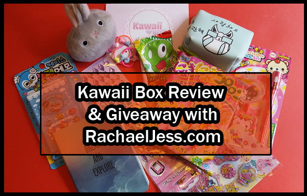 Kawaii Box Review and Giveaway