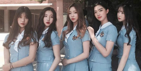 Đồng phục nữ sinh trung học nghệ thuật Jeonju