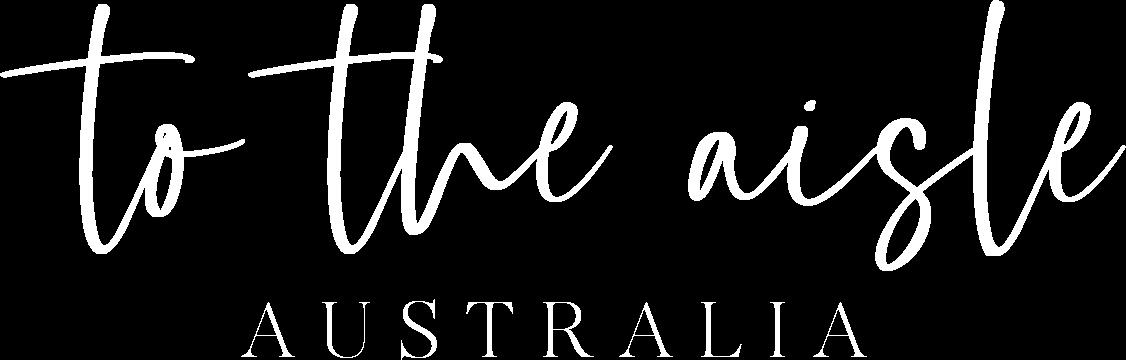 to the aisle australia - wedding blog + shop