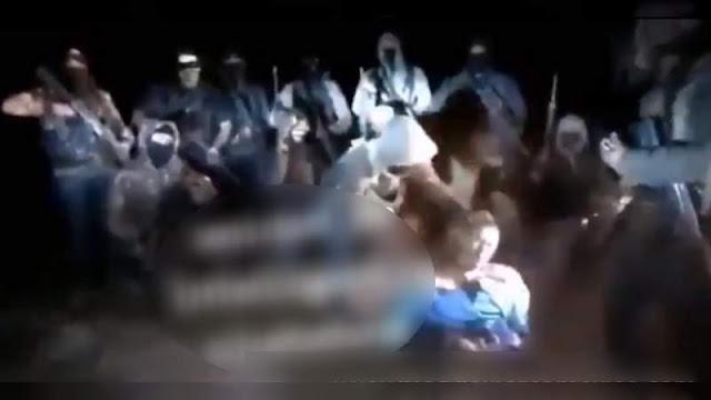 """Con decapitación en video, El CJNG amenaza al cártel de """"Los Correa"""" de Ciudad Hidalgo: """"Venimos a acabar con todas esas lacras"""""""
