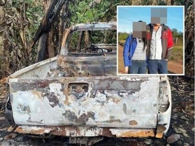 Homem é preso por matar irmão e cunhada; vítimas foram carbonizadas