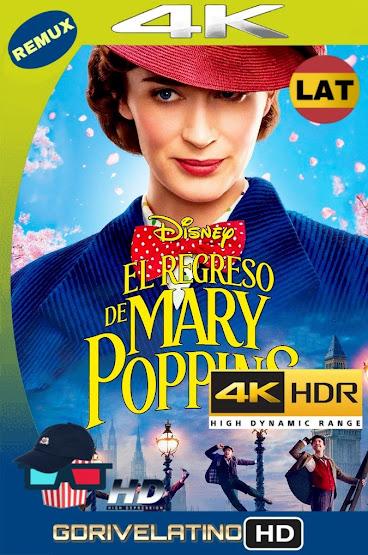 El Regreso de Mary Poppins (2018) BDRemux 4K HDR Latino-Ingles MKV
