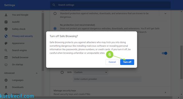 cara download agar tidak diblokir chrome