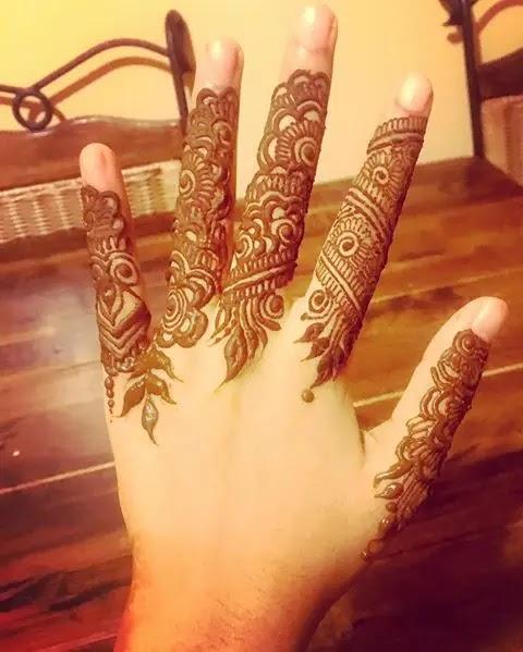 mehndi-design-for-girl-fingers-for-brides