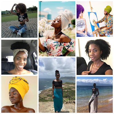 natural hair shrinkage, head wraps, melanin and black girl magic