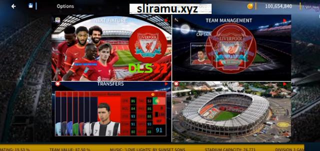 DLS 22 Mod Liverpool Update Kits & Transfer 21/22