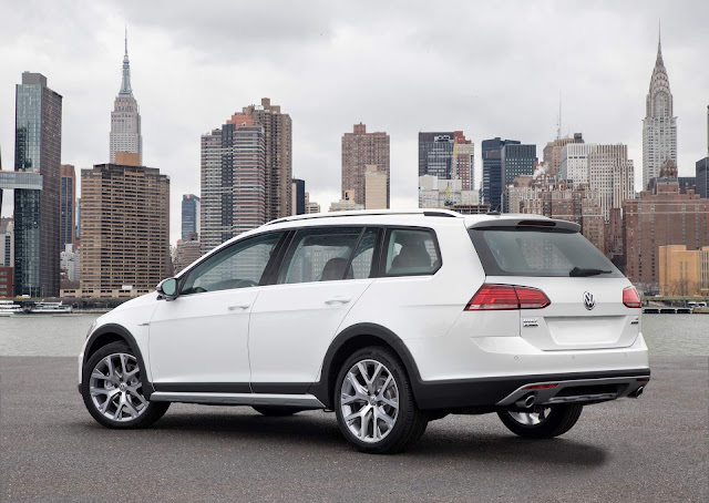 VW Golf Alltrack 2018