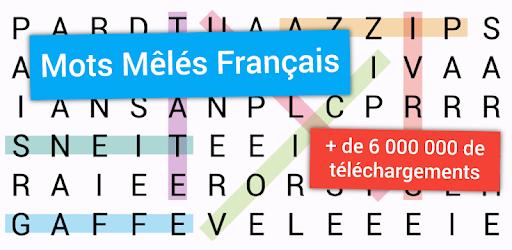 """Télécharger le jeu """"Mots Mêlés"""" pour améliorer son vocabulaire français"""