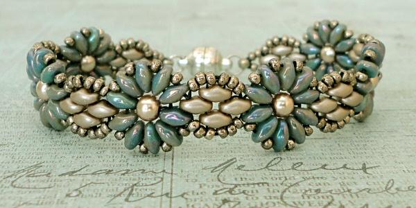 Linda's Crafty Inspirations: Bracelet of the Day: Daisy ...