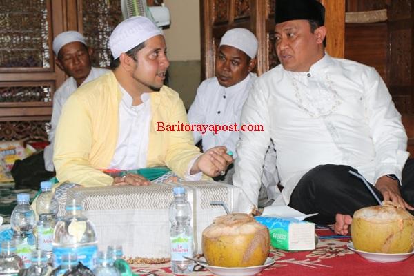 Bupati Kunjungi Masjid Tertua di Kahayan Kuala