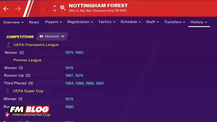Fallen Giant Challenge Football Manager 2021