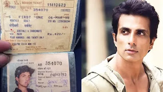 sonu sood 23 years old railway monthly pass goes viral