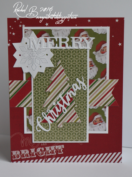 Scrapatout - Handmade card, Christmas, Winter, Impression Obsession