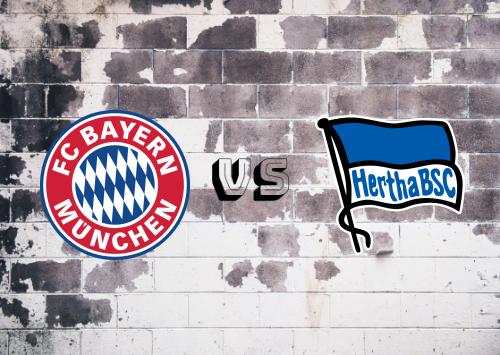Bayern München vs Hertha BSC  Resumen y Partido Completo