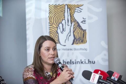 Ömlik a pénz külföldről a Helsinki Bizottsághoz