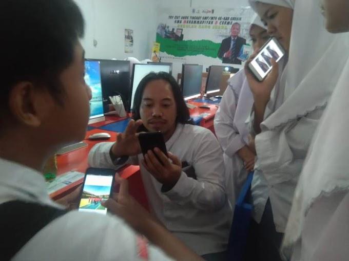 Gelar Workshop Literasi Digital, Berharap Siswa Tak Ngawur Menulis di Medsos