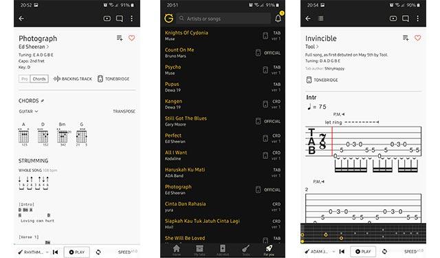 Ultimate Guitar Aplikasi Kunci Gitar Terbaik Android