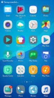 Tema Biru Sederhana V2.1 Android